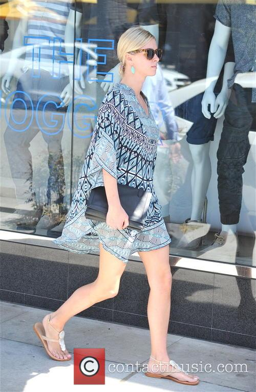 Nicky Hilton goes shopping in Beverly Hills
