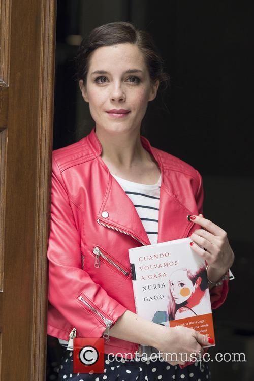 Nuria Gago promotes her debut novel