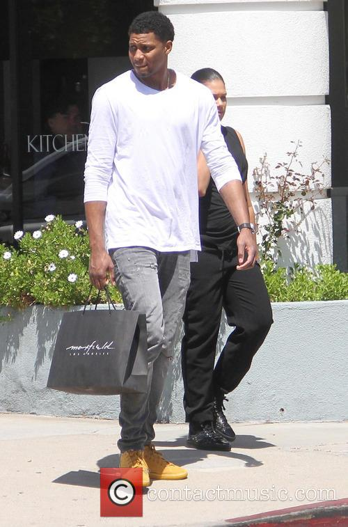 Rudy Gay goes shopping in Hollywood