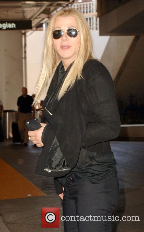 Sheryl Lowe at Los Angeles International Airport (LAX)