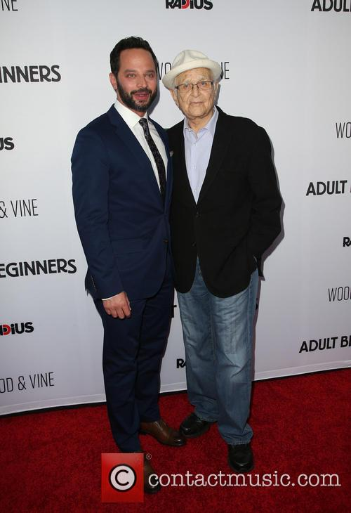 Nick Kroll and Norman Lear 2