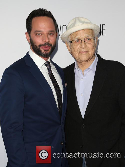 Nick Kroll and Norman Lear 3