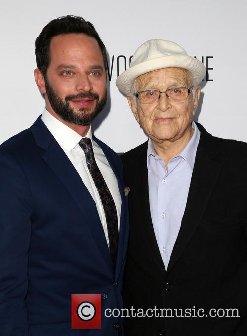 Nick Kroll and Norman Lear 4