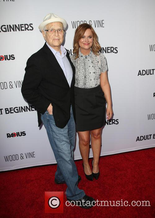 Norman Lear and Amy Poehler 2
