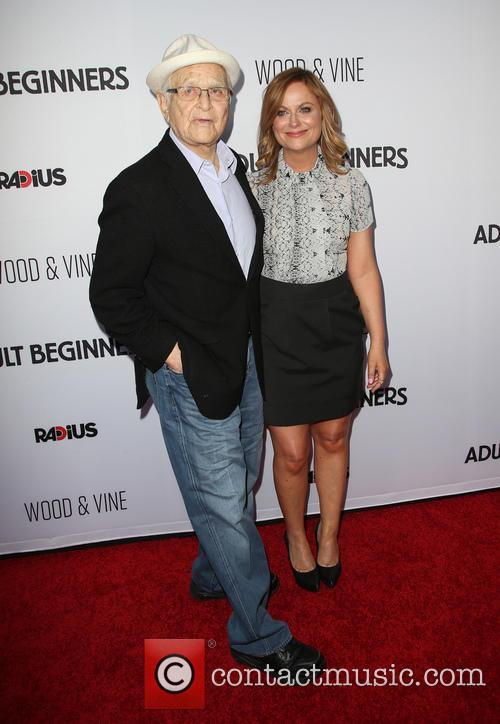 Norman Lear and Amy Poehler 3