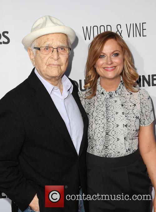 Norman Lear and Amy Poehler 4