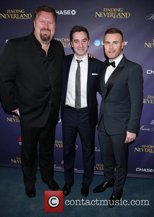 Eliot Kennedy, James Graham and Gary Barlow 8