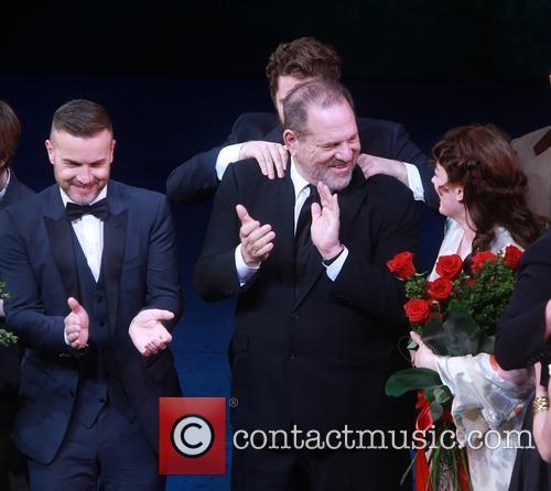 Gary Barlow, Matthew Morrison, Harvey Weinstein and Laura Michelle Kelly 3