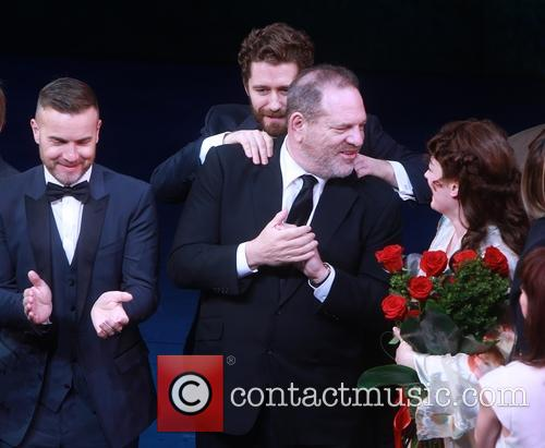 Gary Barlow, Matthew Morrison, Harvey Weinstein and Laura Michelle Kelly 1