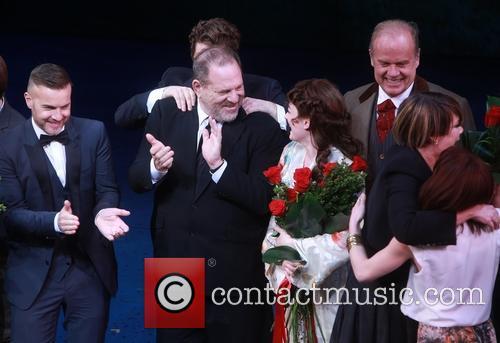 Gary Barlow, Matthew Morrison, Harvey Weinstein, Laura Michelle Kelly and Kelsey Grammer 2