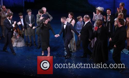 Kelsey Grammer, Matthew Morrison, James Graham, Diane Paulus, Gary Barlow, Harvey Weinstein, Mia Michaels and Eliot Kennedy