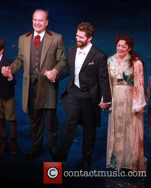 Kelsey Grammer, Matthew Morrison and Laura Michelle Kelly 7