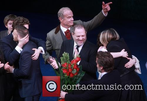 Matthew Morrison, Gary Barlow, Kelsey Grammer and Harvey Weinstein 4