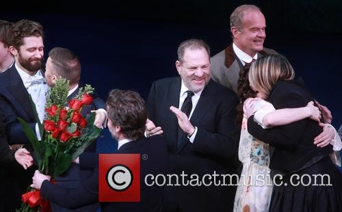 Matthew Morrison, Gary Barlow, Kelsey Grammer and Harvey Weinstein 5