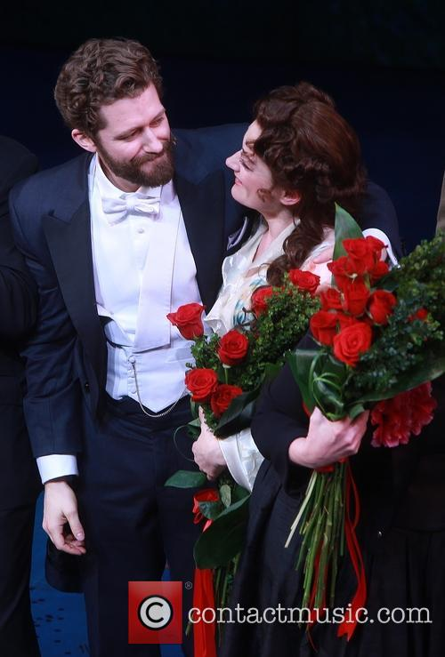 Matthew Morrison and Laura Michelle Kelly 6
