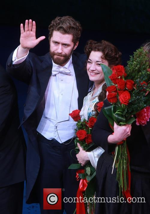 Matthew Morrison and Laura Michelle Kelly 8