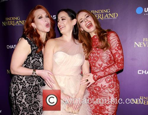Carolee Carmello, Laura Michelle Kelly and Teal Wicks 4