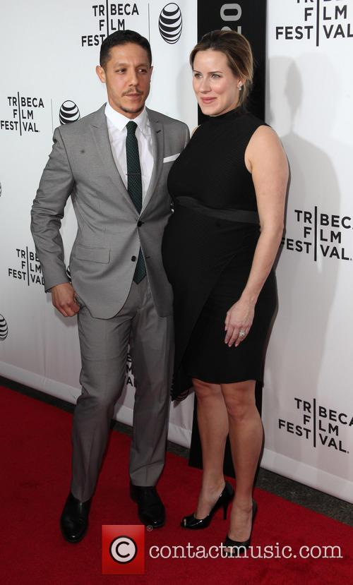 Theo Rossi and Meghan Mcdermott 3