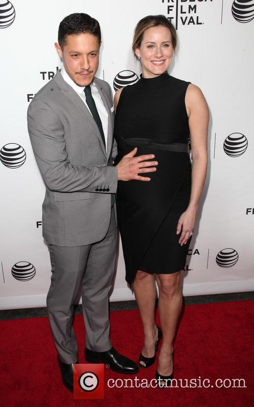 Theo Rossi and Meghan Mcdermott 1