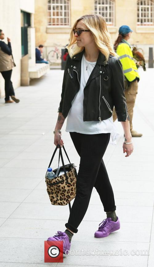 Fearne Cotton arrives at the BBC studios
