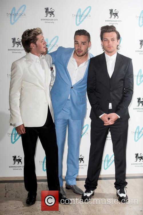 Niall Horan, Louis Tomlinson and Liam Payne 7