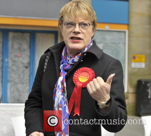 Eddie Izzard on the campaign trail with Labour...