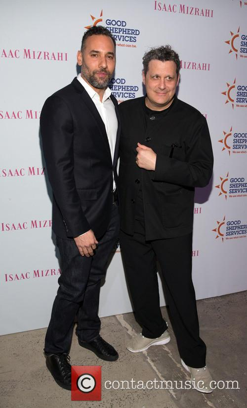 Arnold Germer and Isaac Mizrahi 2