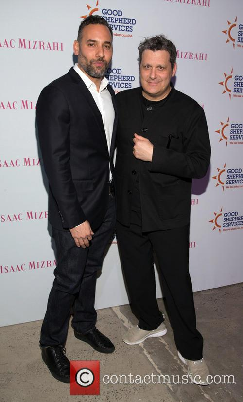 Arnold Germer and Isaac Mizrahi 1
