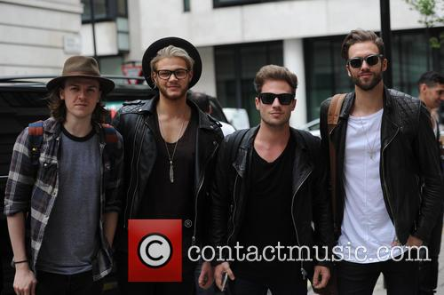 Ryan Fletcher, Andy Brown, Adam Pitts and Joel Peat 2