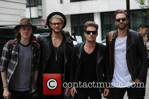 Ryan Fletcher, Andy Brown, Adam Pitts and Joel Peat 3