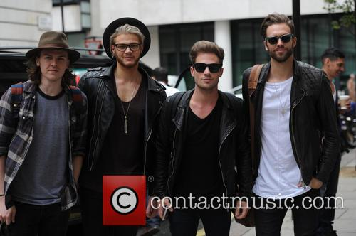 Ryan Fletcher, Andy Brown, Adam Pitts and Joel Peat 1