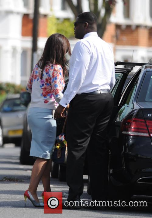 Susanna Reid out in South London