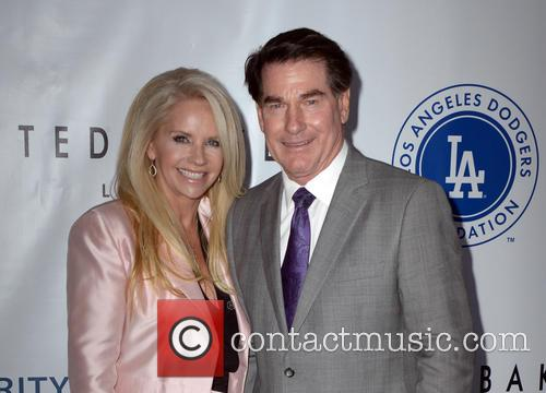 Candace Garvey and Steve Garvey 1