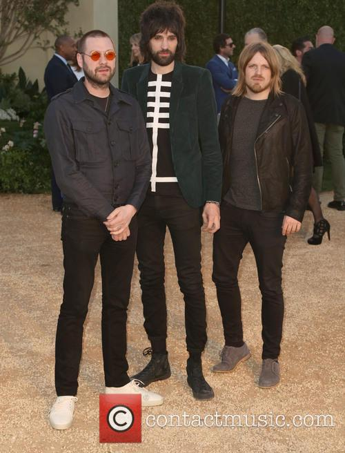 Tom Meighan, Sergio Pizzorno, Chris Edwards and Kasabian