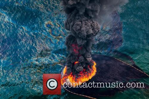 Oil Spill Fire 10