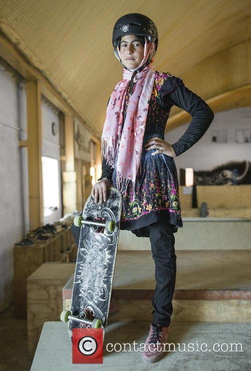 Skateboarding Empowers Afghan Girls by Giving Them Strength...