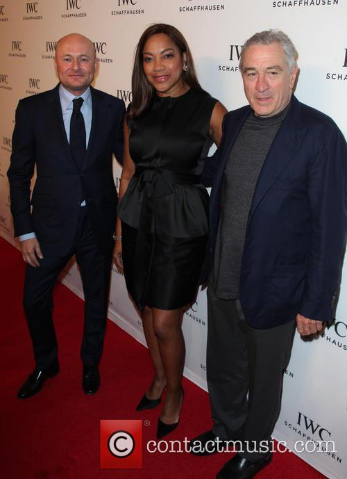 George Kern, Grace Hightower and Robert De Niro 4