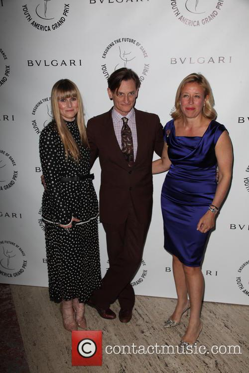 Amy Astley, Hamish Bowles and Veronica Bulgari 1