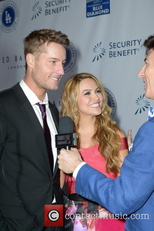 Chrishell Staus and Justin Hartley 1