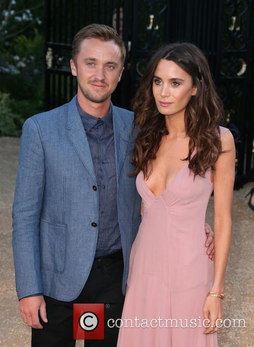Tom Felton and Jade Olivia 1