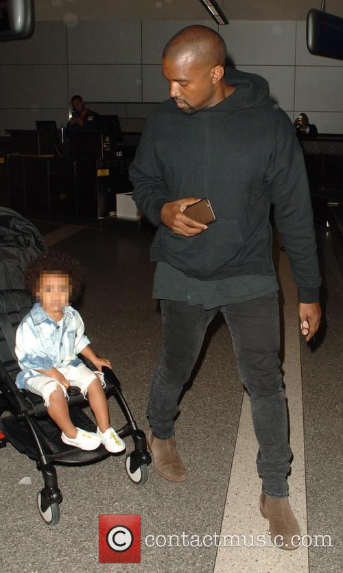 North West and Kanye West 1