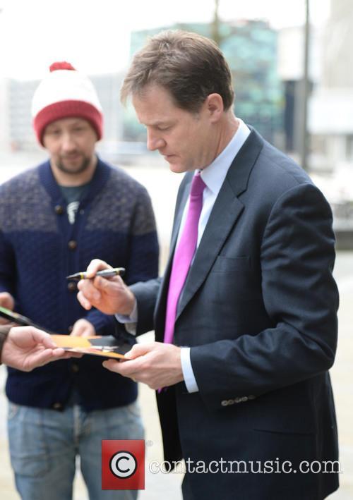 Nick Clegg BBC Media City