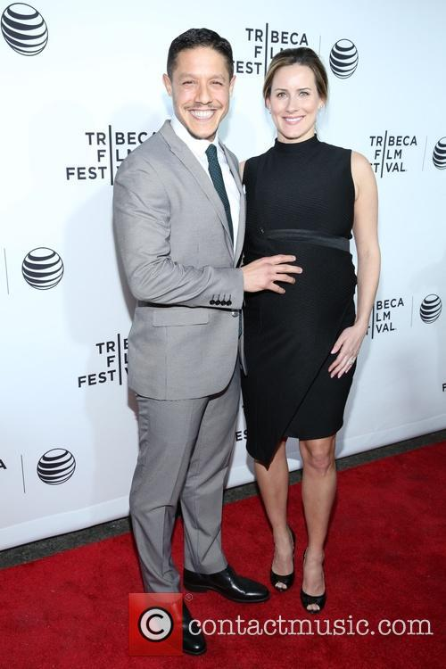 Theo Rossi and Meghan Mcdermott 4