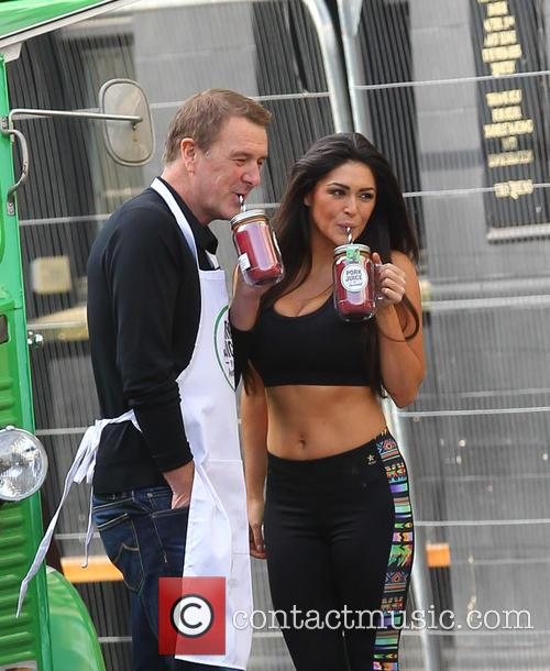 Phil Tufnell and Casey Batchelor 4
