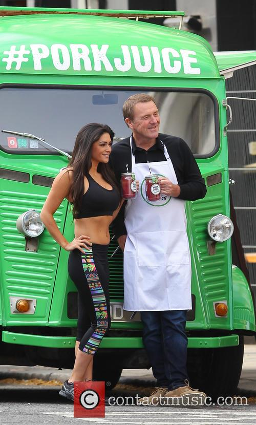 Phil Tufnell and Casey Batchelor 1