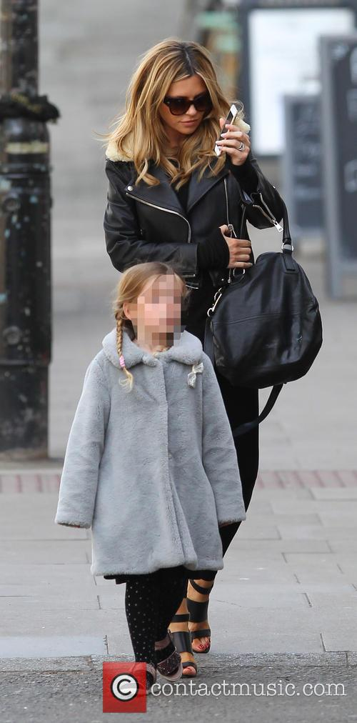 Abbey Clancy and Sophia Ruby 7