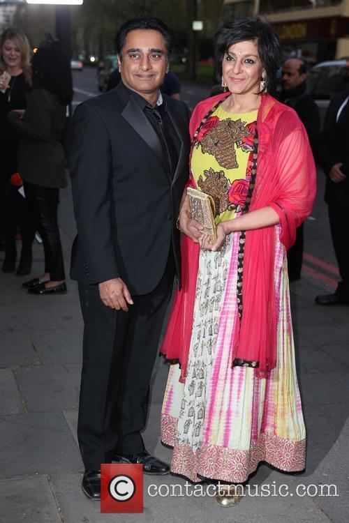 Sanjeev Bhaskar and Meera Syal 2