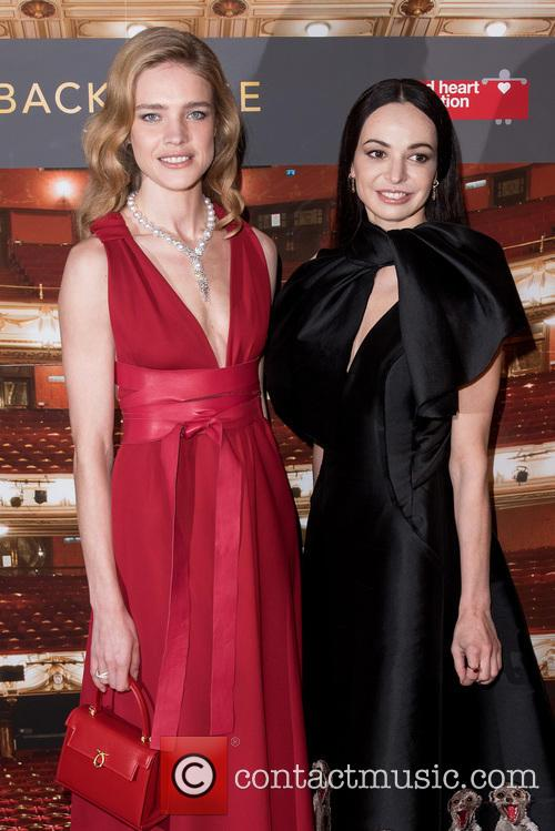 Natalia Vodianova and Diana Vishneva 6