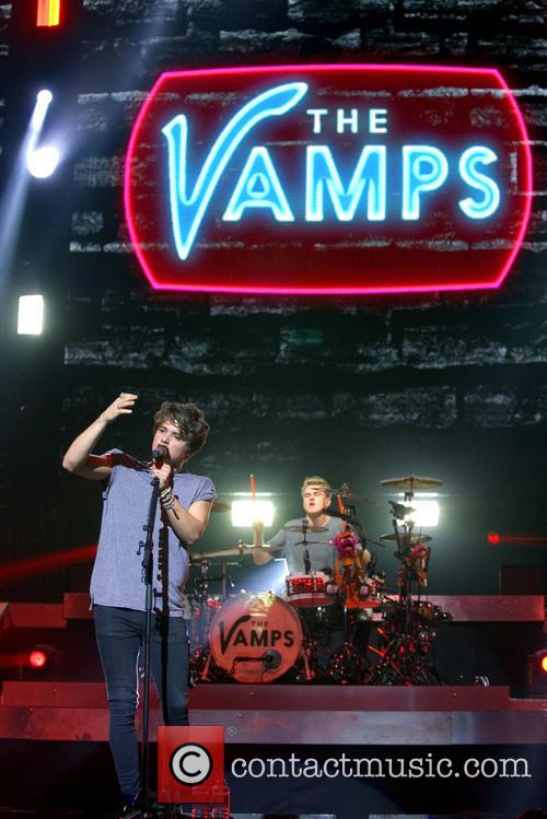 The Vamps, Brad Simpson and Tristan Evans 8
