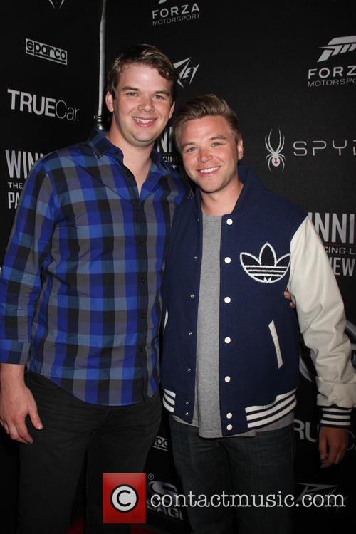 Brother and Brett Davern 2